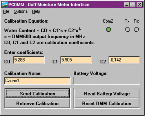 PC-DMM Interface Software for DMM600