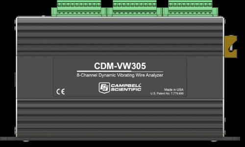 CDM-VW305 8-Channel Dynamic Vibrating-Wire Analyzer