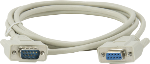 L10873 Serial Data Cable, 9-Pin Female to 9-Pin Male