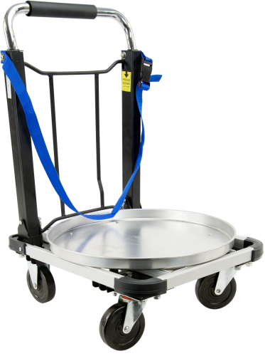 26903 Folding Handcart with Bracket and Strap for a Water Sampler
