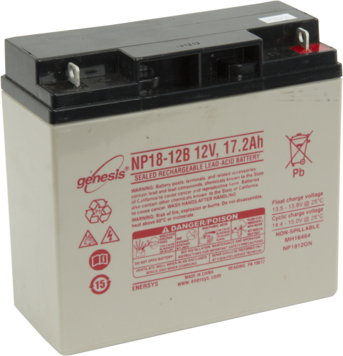 26962 17 Ah 12 V Battery Replacement