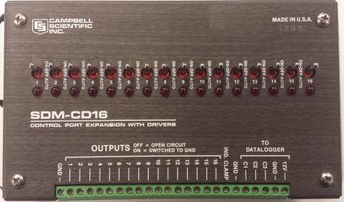 SDM-CD16 16-Channel Control Port Module