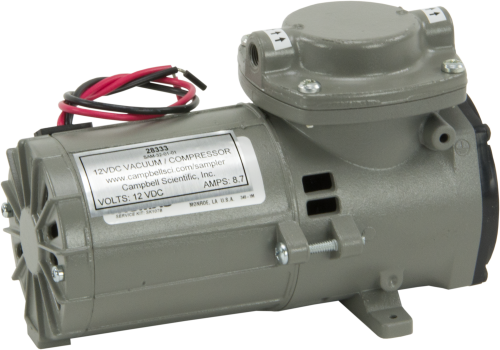28333 Sampler Replacement 12 Vdc Vacuum Pump, 1.4 CFM