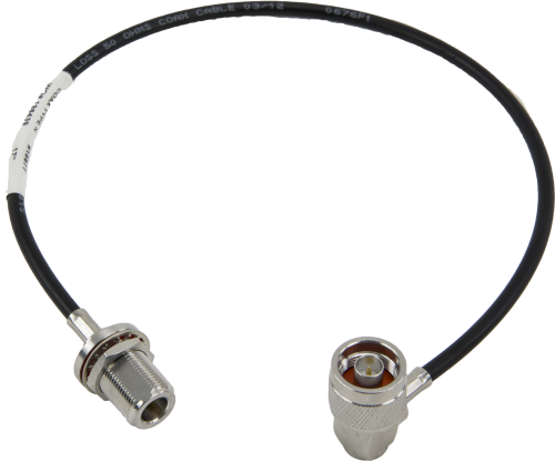 15877 Bulkhead Antenna Cable, Type N Female to Type N Male