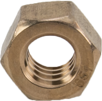 18126 5/16-18 Silicon Bronze Nut