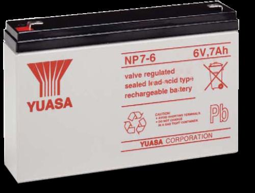 8219 6 V 7 Ah Lead Acid Battery