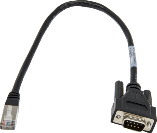 31055 CPI/RS-232 Data Cable, RJ45 to DB9 Male