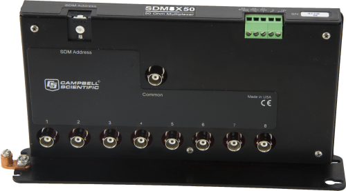 SDM8X50 8-Channel 50 Ohm Coaxial Multiplexer for TDR Systems