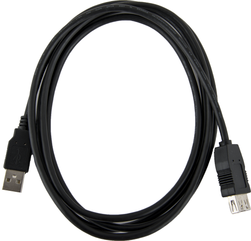 30286 USB Type A Extension Cable, Male to Female, 6 ft