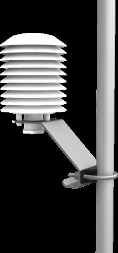 41003-5 10-Plate Solar Radiation Shield