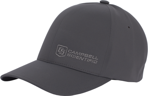 31630 Black Campbell Scientific Baseball Hat, Size XS to S