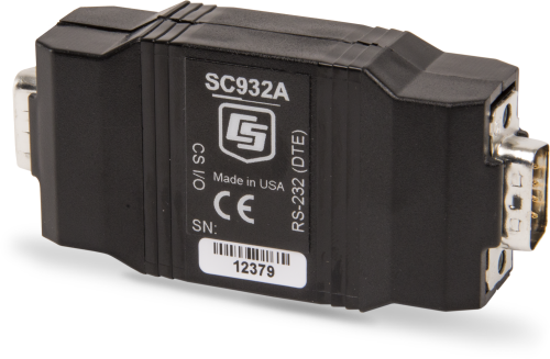 SC932A RS-232 DCE Interface, CS I/O to 9-Pin