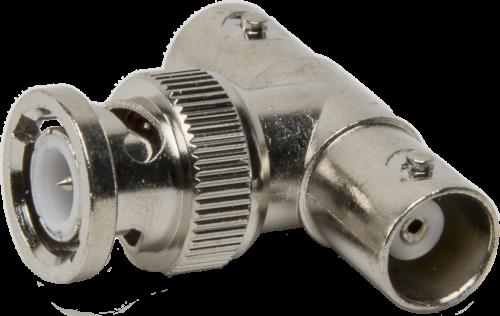 4780 Coaxial Adapter Tee, 2 BNC Jack to BNC Plug