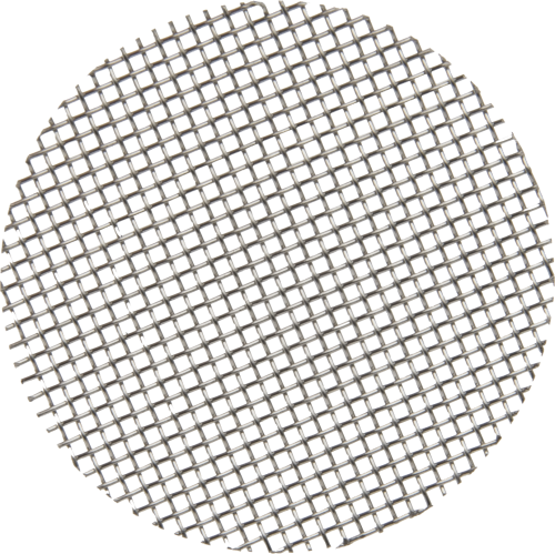 20554 Stainless-Steel Mesh Screen Disc, 20 x 20 with 1.50 Diameter
