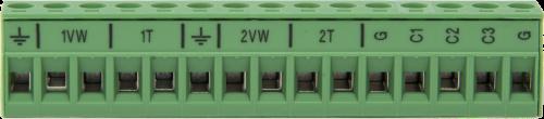 20581 Green Terminal Connector Plug