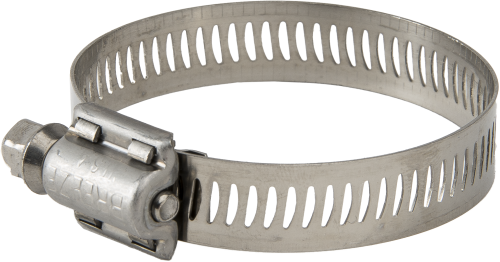 20605 Stainless-Steel Band Clamp 9/16 Wide, 5-5/8 to 8-1/2 OD