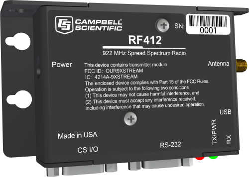 RF412 922 MHz Spread-Spectrum Radio