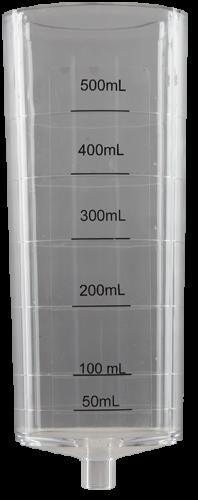 26906 Sampler 3/8 in. 0.5 L Acrylic Meter Chamber