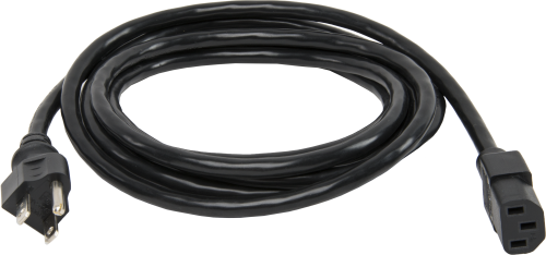 13999 18 AWG Detachable Power Cord