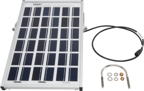 17203 10 W Solar Panel with Power Connector for ET Station