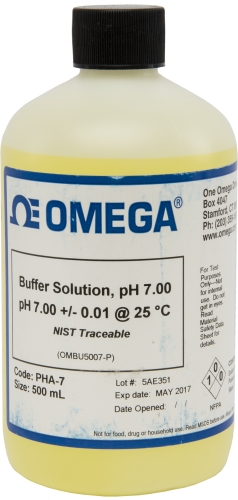 25586 500 mLContainer of 7 pH Buffer Solution