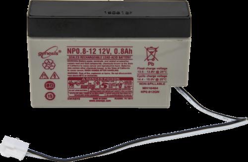 14159 12 Vdc 0.8 Ah Battery