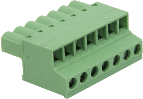 31812 12 to 24 AWG Green Connector Plug