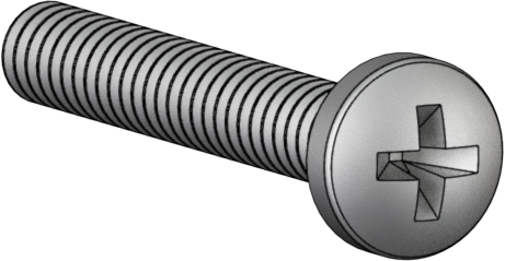 2808 #6-32 x .750 Pan Phillips Stainless-Steel Screw