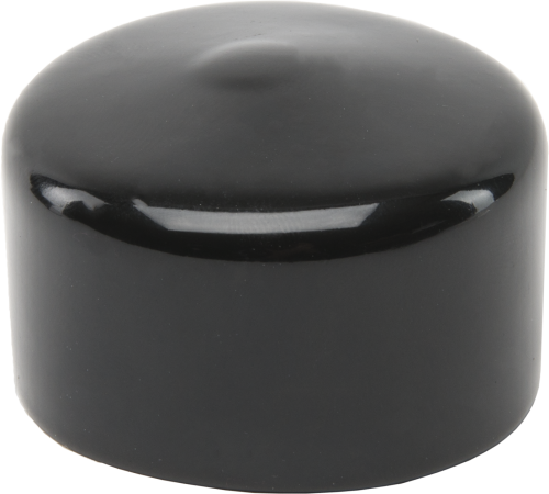 20610 Black Vinyl Pipe Cap 1-1/2 x 1