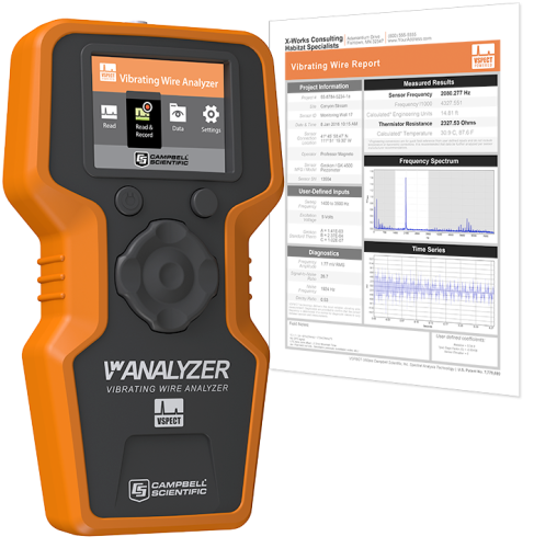 VWAnalyzer Vibrating-Wire Analyzer