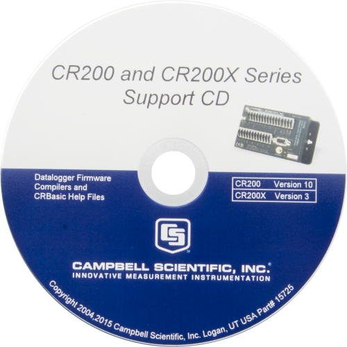 15725 CR200(X)-Series Datalogger Compiler and OS on CD