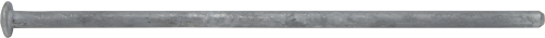17049 Galvanized Steel Grounding Spike 1/2 x 16