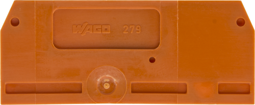 15907 End Plate/Separator for DIN-Rail Connector