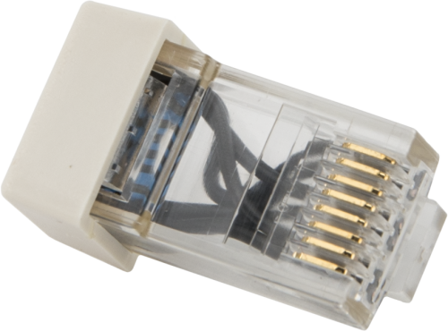 28558 Modular RJ45 Resistor Termination Plug for CPI Bus
