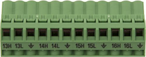30372 Replacement AM16/32B Channels 13 to 16 Connector