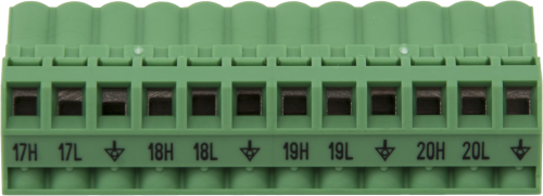 30373 Replacement AM16/32B Channels 17 to 20 Connector