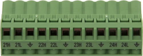 30374 Replacement AM16/32B Channels 21 to 24 Connector