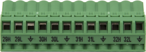 30376 Replacement AM16/32B Channels 29 to 32 Connector