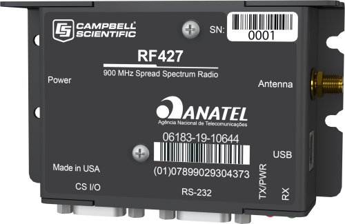 RF427 905 MHz + 920 MHz Spread-Spectrum Radio