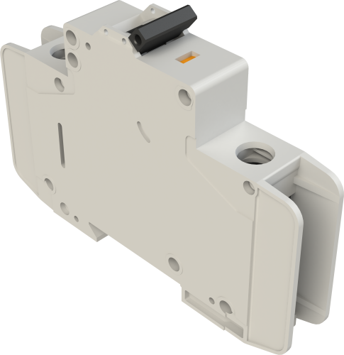 30088 DIN-Rail Mountable 15 A Circuit Breaker, Single Pole 17.7 mm UL489