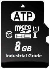 009642 8 GB microSD Flash SLC Memory Card