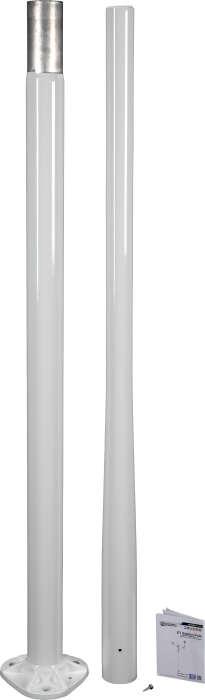 The 10489 aluminum pole with the 34150 kit (sold separately)