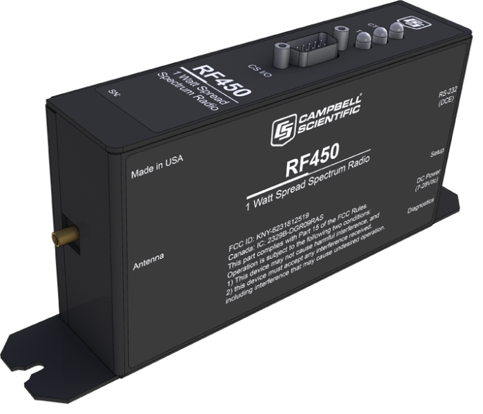 RF450: 900 MHz 1 W Spread-Spectrum Radio