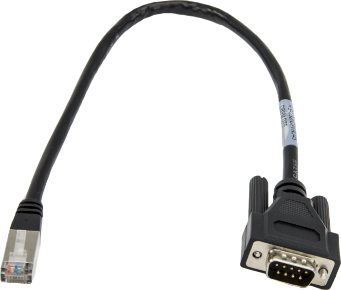 31055: CPI/RS-232 Data Cable, RJ45 To DB9 Male
