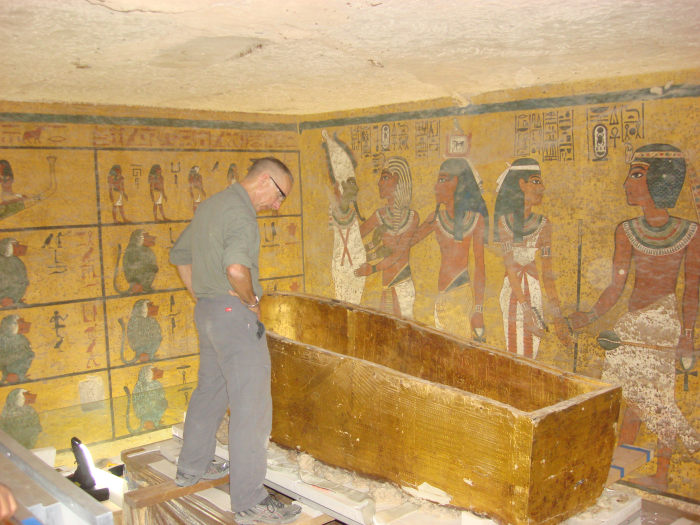 King Tut Tomb Discovery: Egypt: Preserving King Tut's Tomb: Campbell Datalogger