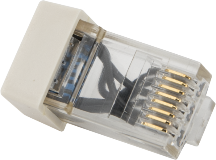 28558  Modular Rj45 Resistor Termination Plug For Cpi Bus