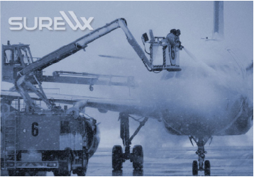 Information from the PWS100 is used in the determination<br />of accurate de/anti-icing treatment times to optimize<br />the quantities used and reduce expensive delays.