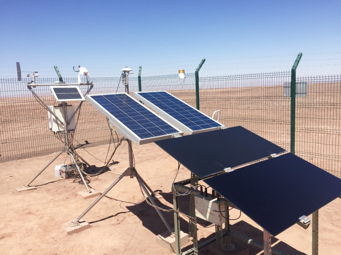 chile: solar panel soiling