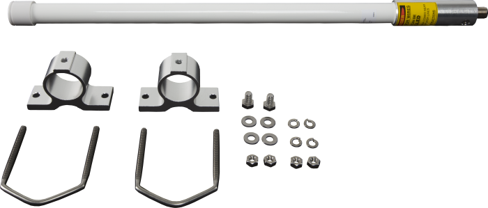 14221 antenna with mounting hardware, disassembled