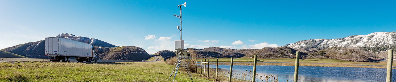 Road Weather (RWIS) Road-weather information systems and weather stations